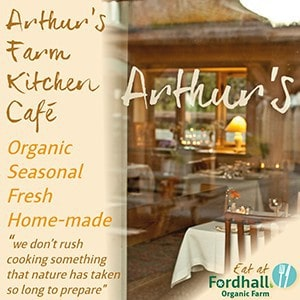 Arthur's Farm Kitchen Cafe Website Advert 300 x 300