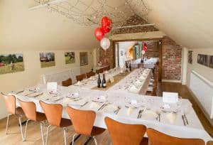Our eco function room can cater for large private parties.