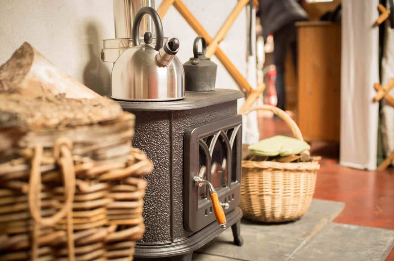 yurt woodburner