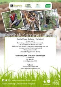 Fordhall Forest Challenge - The Return! @ Fordhall Organic Farm