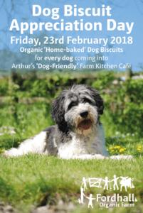 Dog Biscuit Appreciation Day @ Fordhall Organic Farm | Tern Hill | England | United Kingdom