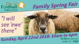 Fordhall Family Spring Fair @ Fordhall Organic Farm | Tern Hill | England | United Kingdom