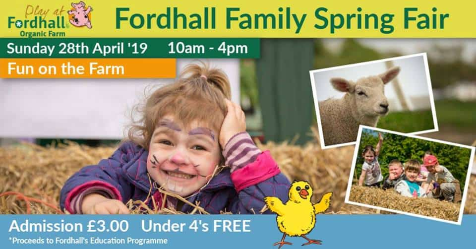 Spring Fair 2019 Fordhall Farm