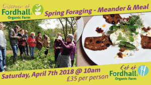 Spring Foragings – Meander & Meal @ Fordhall Organic Farm | Tern Hill | England | United Kingdom