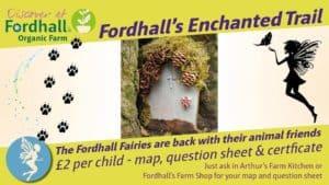 Enchanted Trail Fordhall Organic Farm