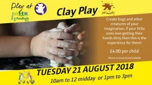 Clay Play @ Fordhall Organic Farm | Tern Hill | England | United Kingdom