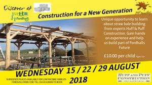 Construction for a New Generation - Skills Workshop @ Fordhall Organic Farm | Tern Hill | England | United Kingdom