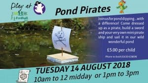 Pond Pirates @ Fordhall Organic Farm | Tern Hill | England | United Kingdom