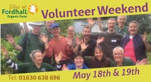 Volunteer Weekend May 2019 @ Fordhall Organic Farm | Tern Hill | England | United Kingdom