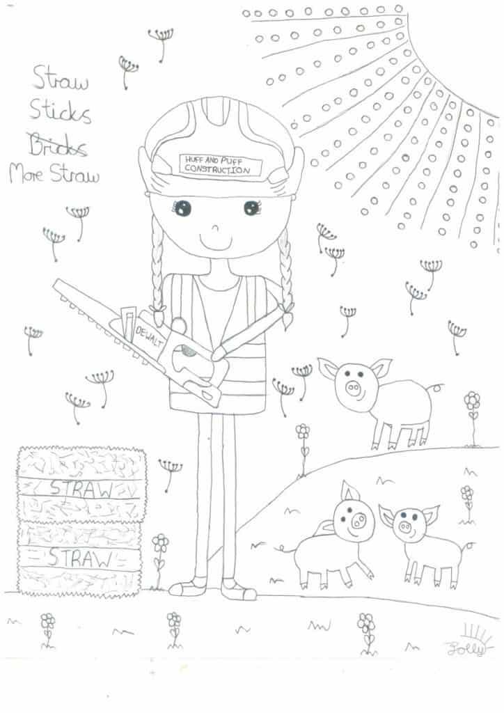 Sami & Jolly Drawing Organic Farm