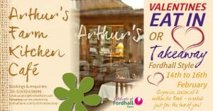 Valentines at Arthurs Farm Kitchen @ Fordhall Organic Farm | Tern Hill | England | United Kingdom