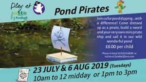 Pond Pirates - Family summer event @ Fordhall Organic Farm | England | United Kingdom