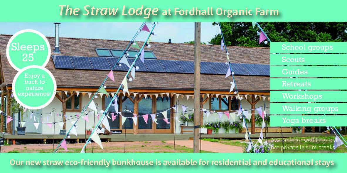 The Straw Lodge - now available for hire