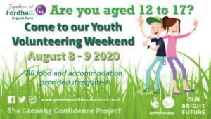 Youth Volunteer Weekend - Day sessions socially distanced @ Fordhall Organic Farm   Tern Hill   England   United Kingdom