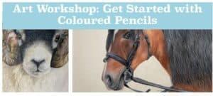 Art Workshop: Get Started with Coloured Pencils @ Fordhall Organic Farm   England   United Kingdom