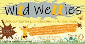 Wild Wellies Adventure Trails @ Fordhall Organic Farm  | Tern Hill | England | United Kingdom