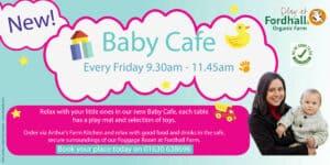 Baby Cafe @ Fordhall Organic Farm    Tern Hill   England   United Kingdom