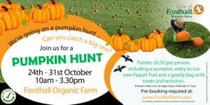 We're Going on a Pumpkin Hunt @ Fordhall Organic Farm  | Tern Hill | England | United Kingdom