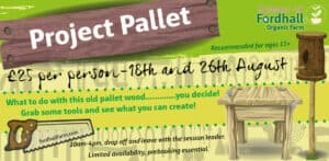 Project Pallet @ Fordhall Organic Farm | Tern Hill | England | United Kingdom